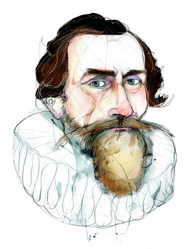 'Astronomía nueva' de Johannes Kepler (1571-1630). Las leyes matemáticas pasan a gobernar el cielo.