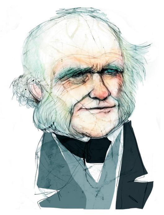 'Principios de geología' de Charles Lyell (1797-1875). Una obra clave en la fundación de la geología moderna.