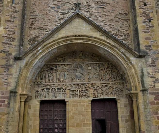 Visita 360º a la Abadía Santa Fe de Conques. (Hacer clic en la imagen o aquí)