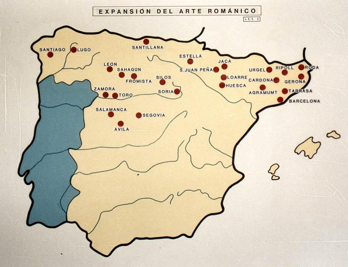 Expansión del Arte Románico.