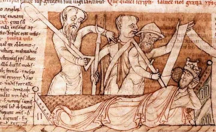 """""""Los obispos y los nobles, que eran los nuevos señores feudales, comenzaron pronto a ejercer su poder fundando abadías y monasterios."""" E. H. Gombrich."""