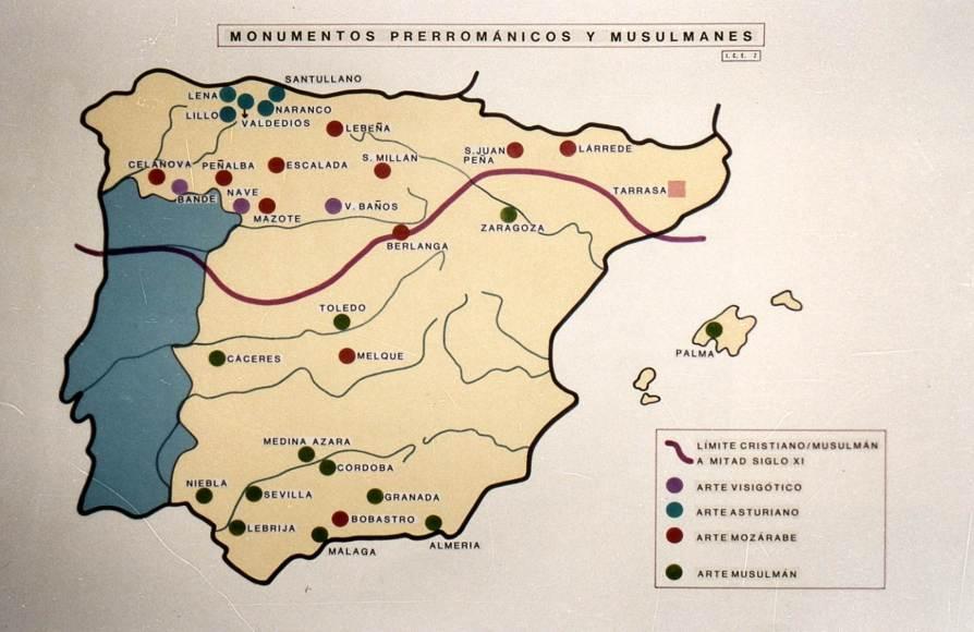 Monumentos Prerománicos y Musulmanes.