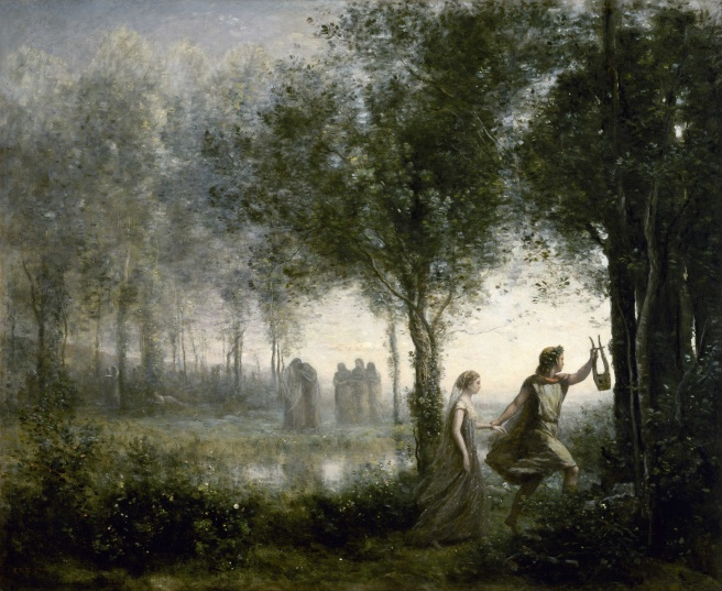 Camille Corot, 1861;  Óleo sobre lienzo, 112.3 × 137.1 cm. Museum of Fine Arts, Houston