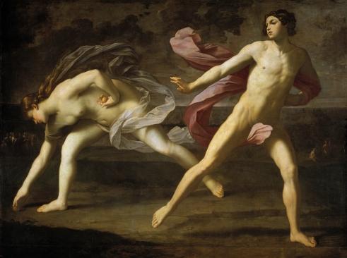 Resultado de imagen de hipomenes y atalanta reni