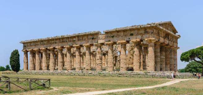 Paestum: -Templo de Poseidon-.
