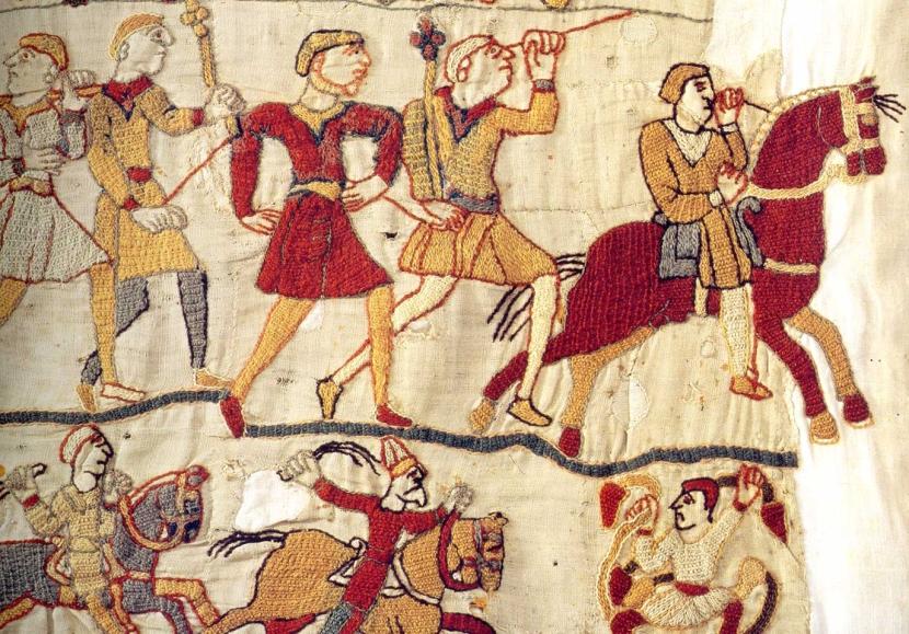 Otros detalles del tapiz.