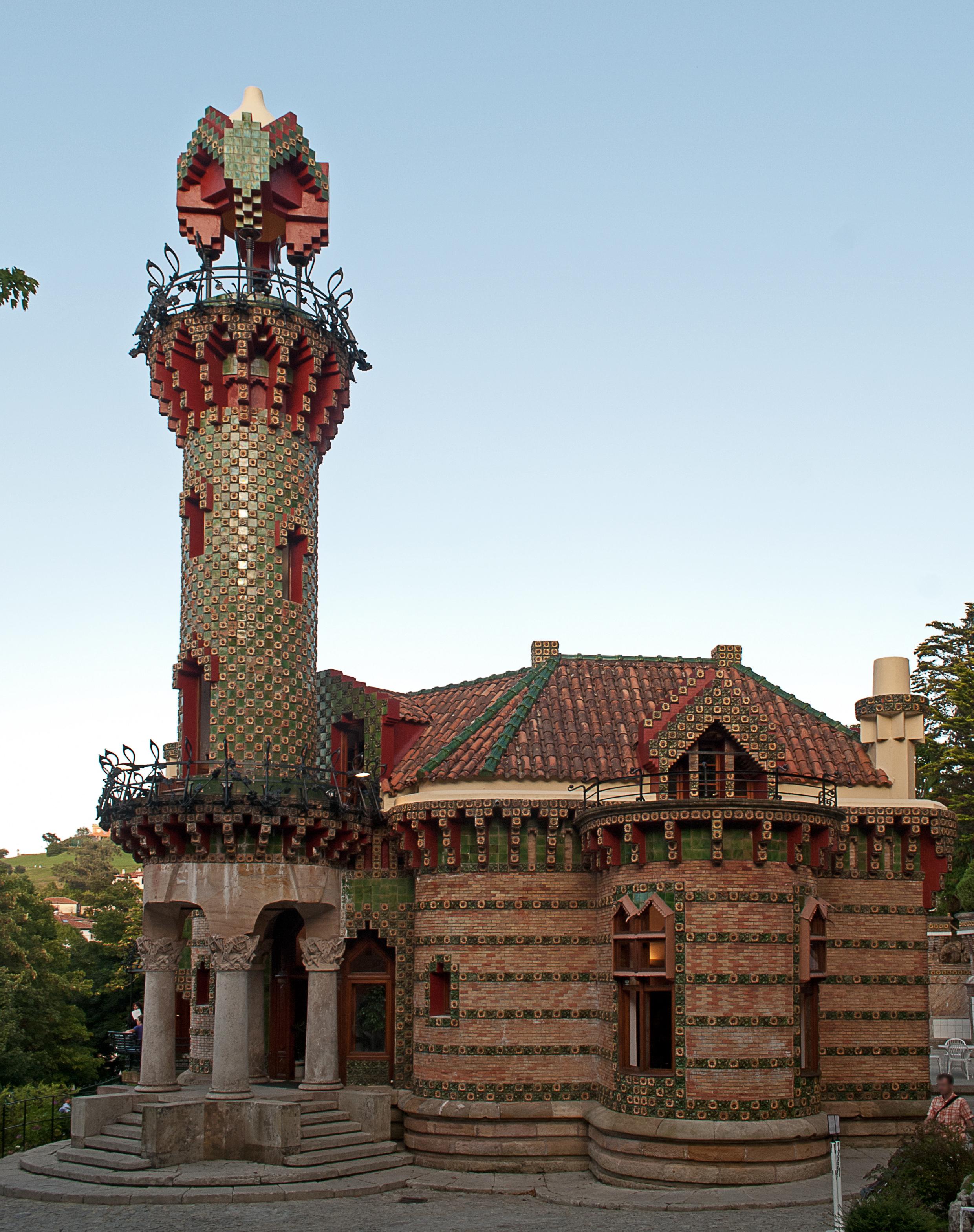 Comillas y el modernismo el capricho de gaud euclides59 - Casa de cantabria en madrid restaurante ...
