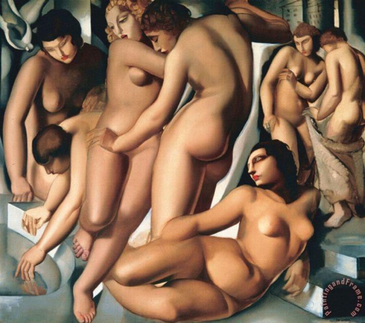 Tamara de Lempicka: Mujeres bañándose, hacia 1929