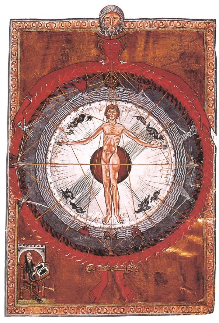 El hombre Universal, Fol. 9, Liber divinorum operum I, 2.