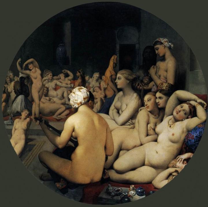 J.A. Ingres: Baño turco, 1862