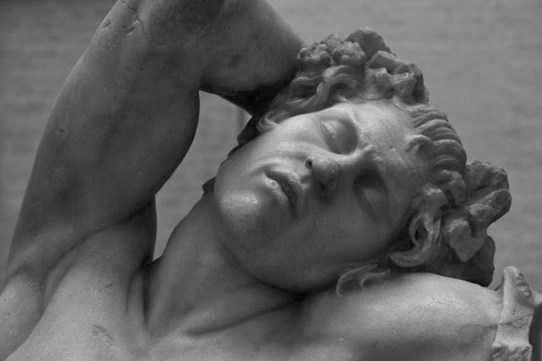 Fauno Barberini. Detalle (1).