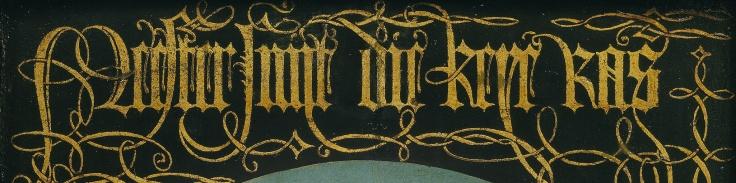 caligrafía. Detalle (4)
