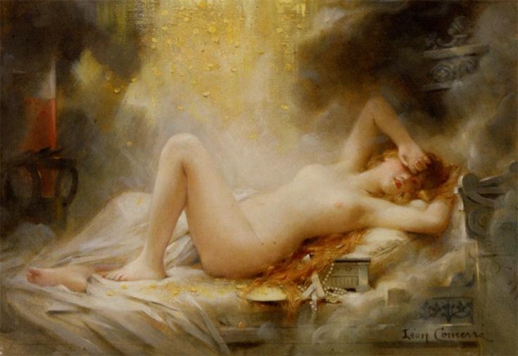 Comerre_Leon_Francois_Danae_Oil_on_Canvas-large