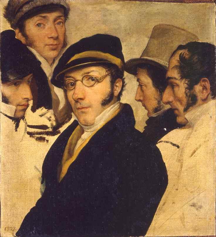Francesco_Hayez_-_Self_Portrait_in_a_Group_of_Friend_-_Google_Art_Project