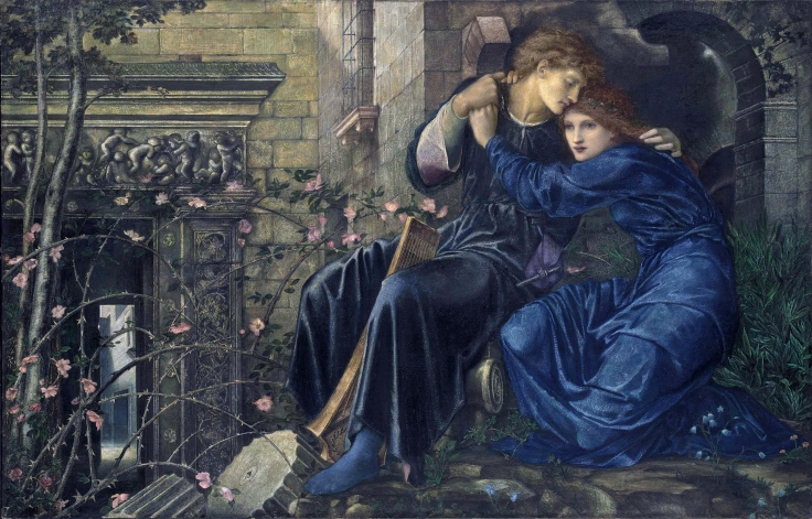 Love among the Ruins, by Edward Coley Burne-Jones