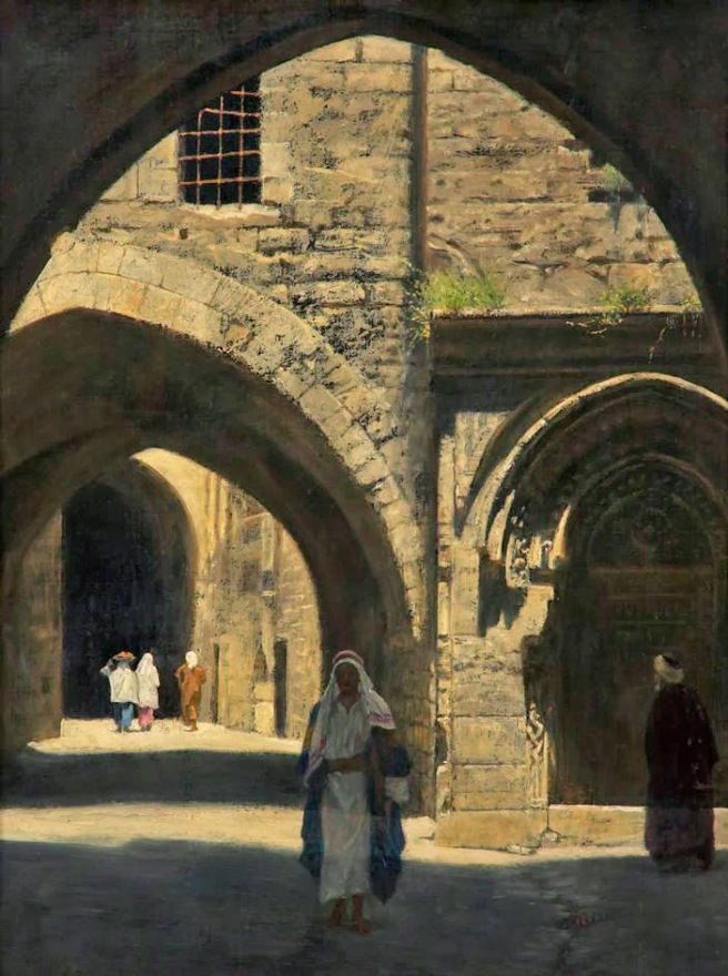 John Collier - A Street in Jerusalem