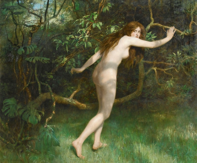 John_Collier_-_Eve,_1911