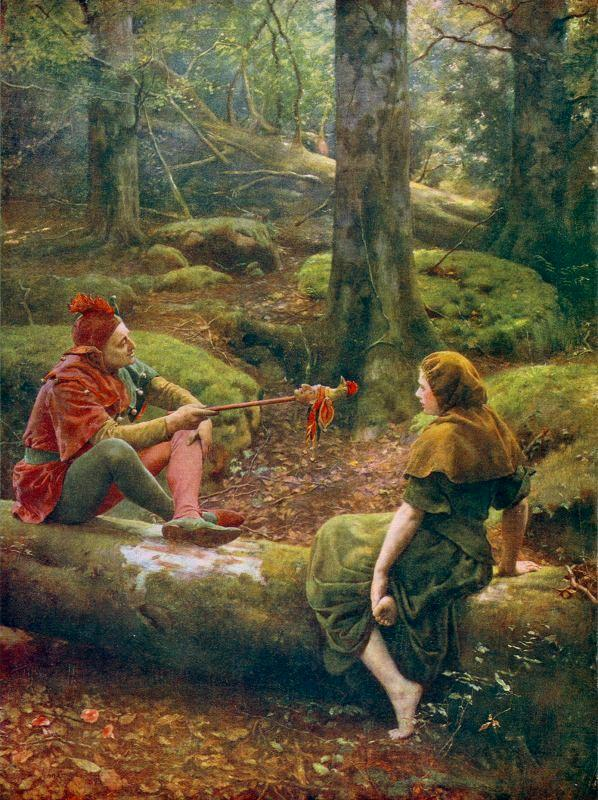 John_Collier_-_In_the_Forest_of_Arden