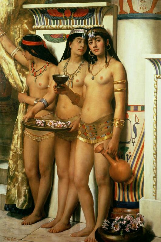 John_Collier_-_Pharaohs_Handmaidens