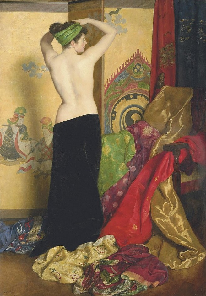 John_Collier_-_Pomps_and_Vanities,_1917