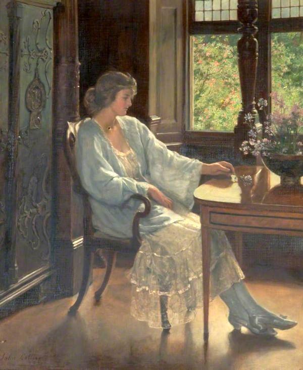 John_Collier,_1921_-_Meditation