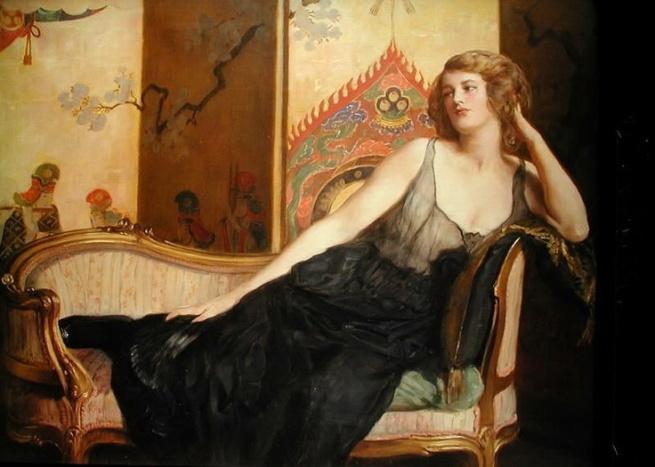 La mujer reclinada