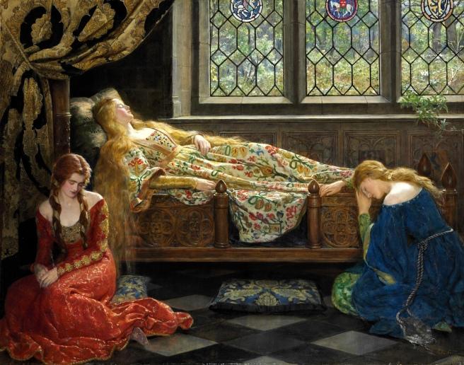 The_sleeping_beauty_by_John_Collier_1