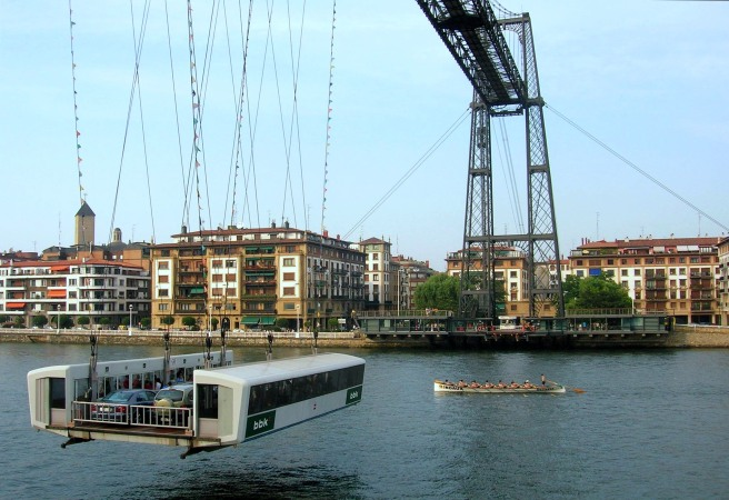 Trainera_Transbordador_Vizcaya