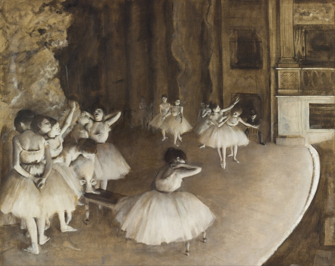 Edgar_Degas_-_Ballet_Rehearsal_on_Stage_-_Google_Art_Project