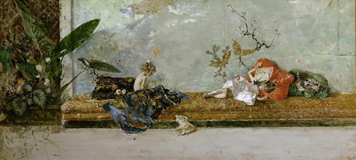 mariano_fortuny_the_artists_children_in_the_japanese_salon