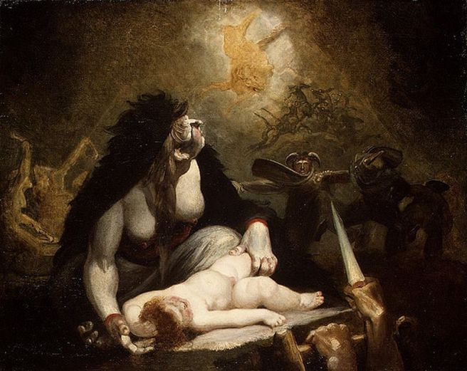 The Night-Hag Visiting the Lapland Witches (1796 - Henry Fuseli)