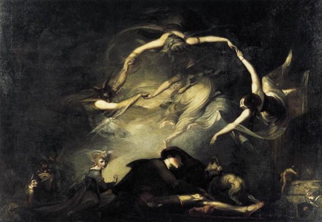 The Shepherd's Dream (1793 - Henry Fuseli)