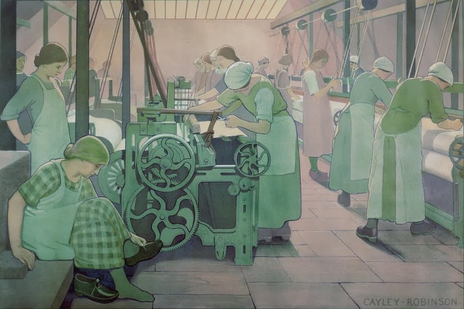 british-industries--cotton-frederick-cayley-robinson