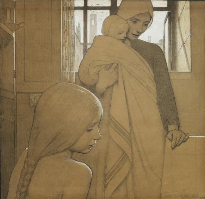 Frederick Cayley Robinson Tutt'Art@ (42)