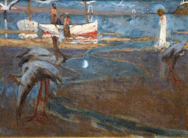 Robinson, Frederick Cayley, 1862-1927; 'And straightway they forsook their nets and followed Him'
