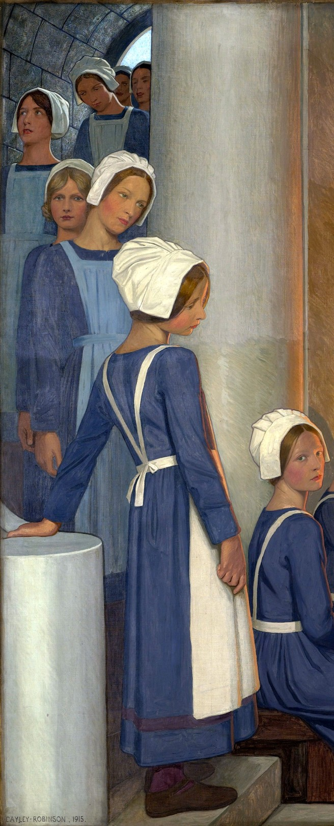 L0051546 Oil Painting by Cayley Robinson