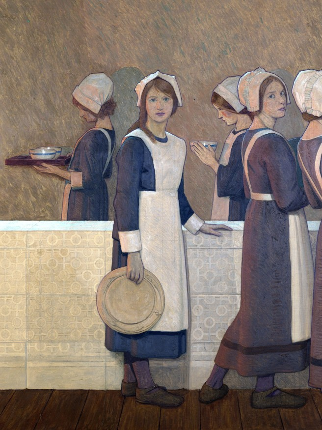 L0051543 Painting by Cayley Robinson