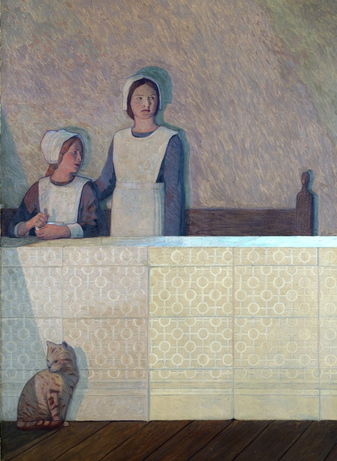 L0051544 Painting by Cayley Robinson