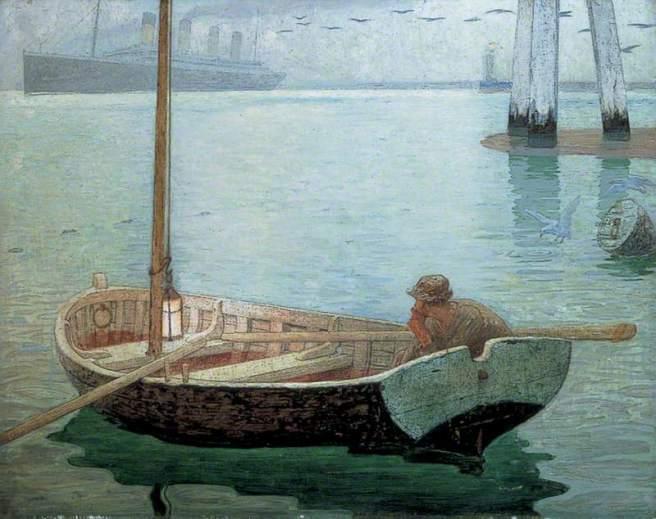 Robinson, Frederick Cayley, 1862-1927; The Outward Bound