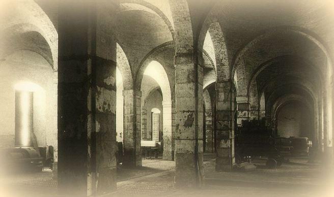 Palacio de la Aduana, interior -1945-7