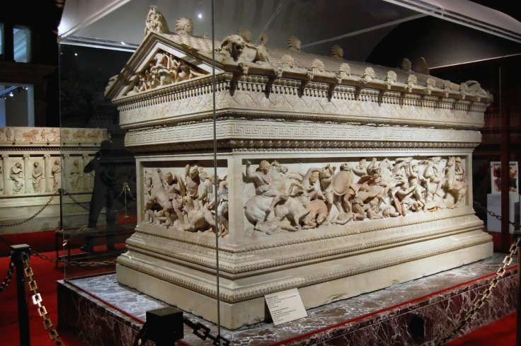Art Esc IV Sarcofago de Alejandro c 310 B