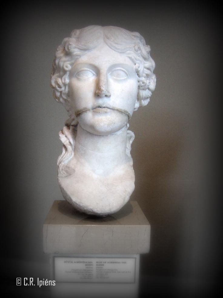 Cabeza de Agripina