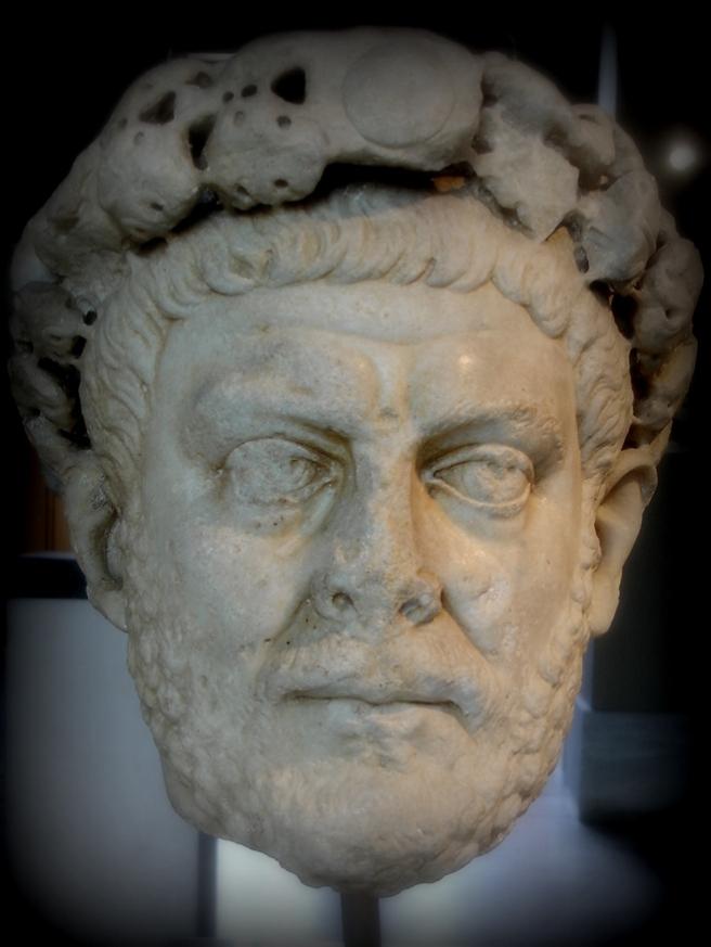 Cabeza Diocleciano